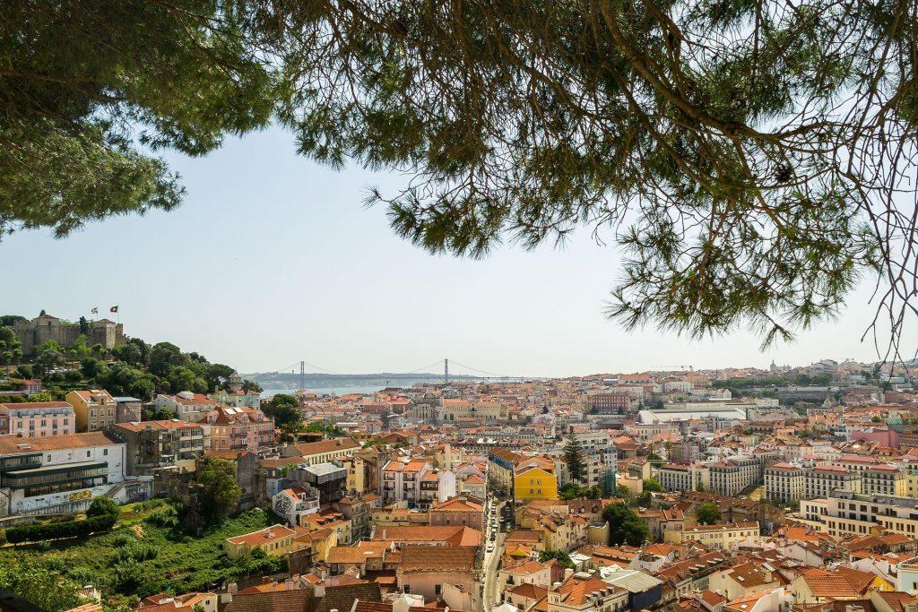 Miradouro da Graça // Os Melhores Miradouros Em Lisboa. Melhores Vistas de Lisboa // Warmrental