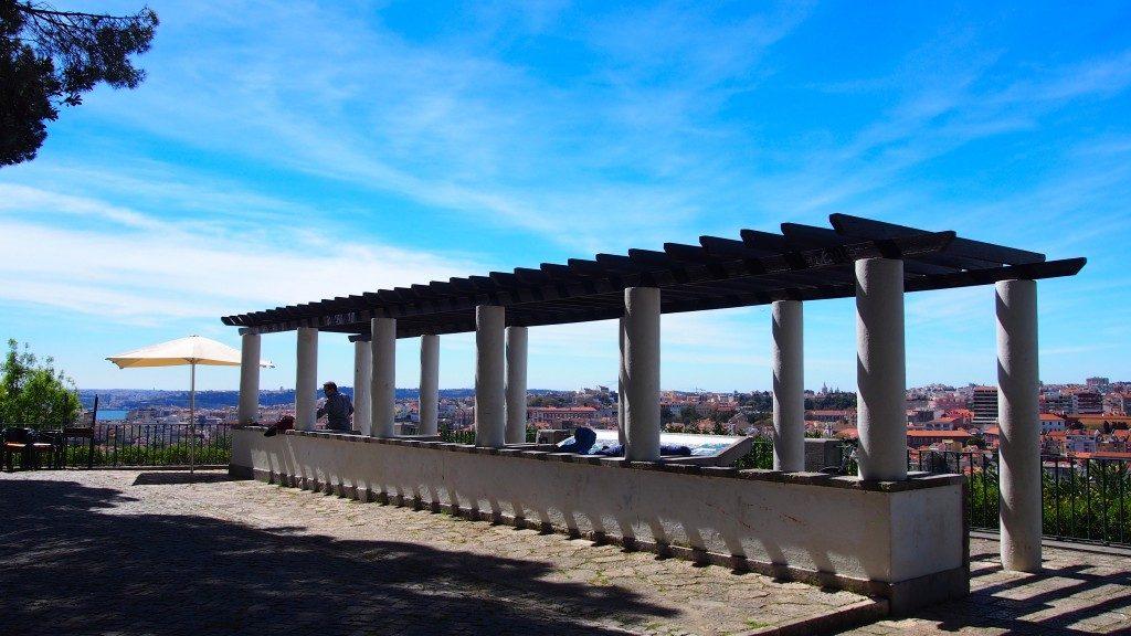 Miradouro do Monte Agudo // Os Melhores Miradouros Em Lisboa. Melhores Vistas de Lisboa // Warmrental