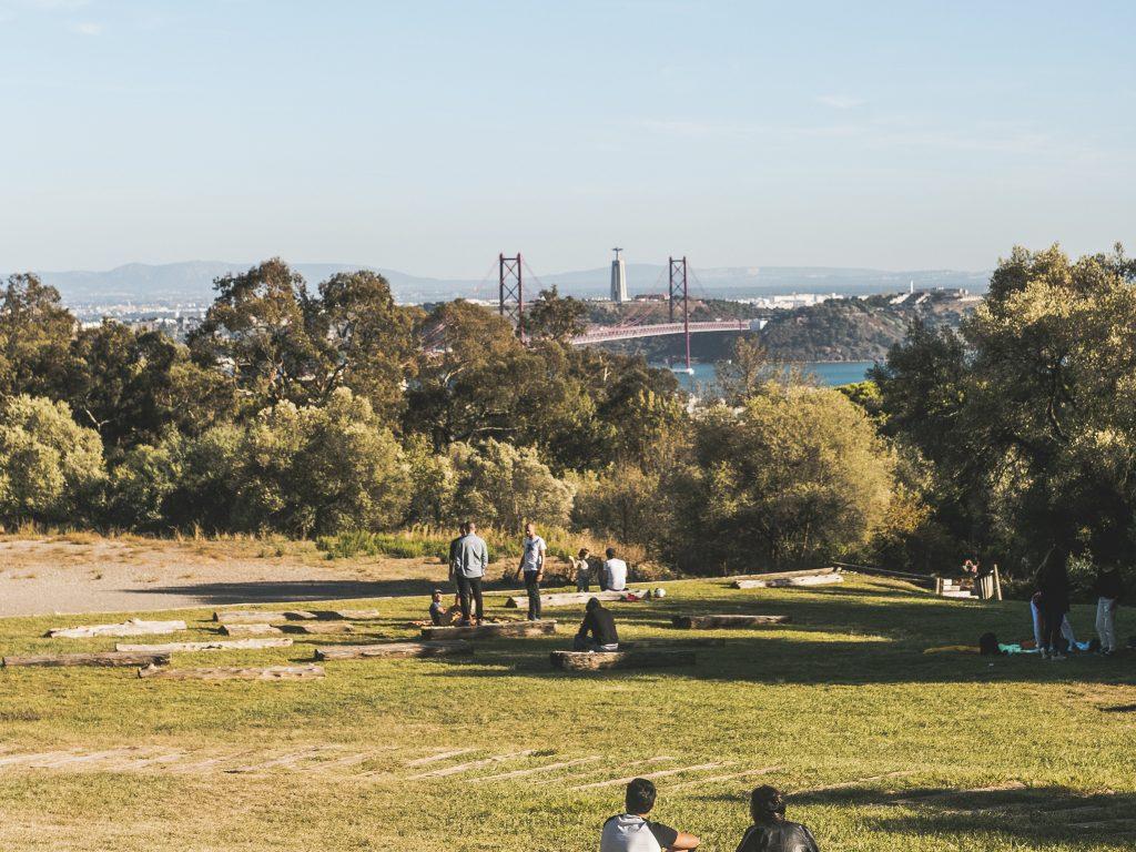 Miradouro Keil do Amaral // Os Melhores Miradouros Em Lisboa. Melhores Vistas de Lisboa // Warmrental