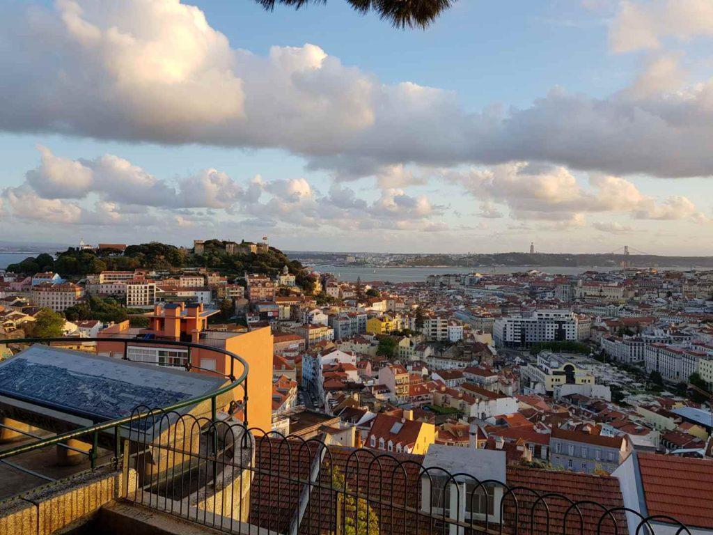 Nossa Senhora do Monte Viewpoint // The Best Viewpoints In Lisbon // Warmrental