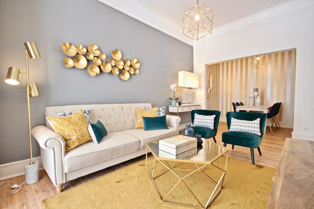 Lemon Apartment | Where To Stay In Lisbon At Christmas: 10 Cozy Apartments In Lisbon. Christmas In Lisbon. Rent Lisbon Apartment. // Warmrental