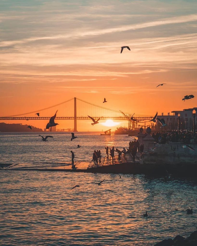 Most Instagrammable Places In Lisbon | Where To Take Photos In Lisbon | Cais das Colunas | Warmrental