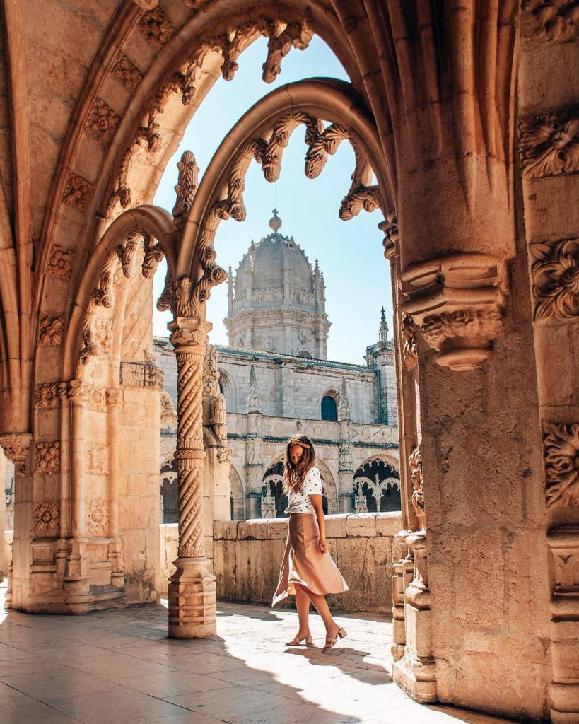 Most Instagrammable Places In Lisbon | Where To Take Photos In Lisbon | Jeronimos Monastery | Warmrental
