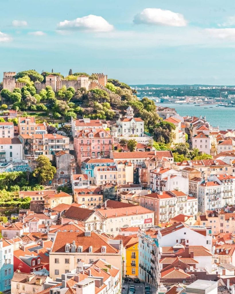 Most Instagrammable Places In Lisbon | Where To Take Photos In Lisbon | Nossa Senhora do Monte Viewpoint | Warmrental