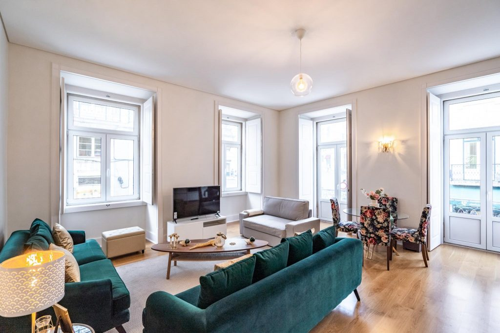 10 Long-Term Rentals In Lisbon Where You'll Feel At Home   Long stay apartments for rental in Lisbon   Long term accommodation in Lisbon   Furnished apartments for rent in Lisbon   Long Term Rental In Baixo   Warmrental