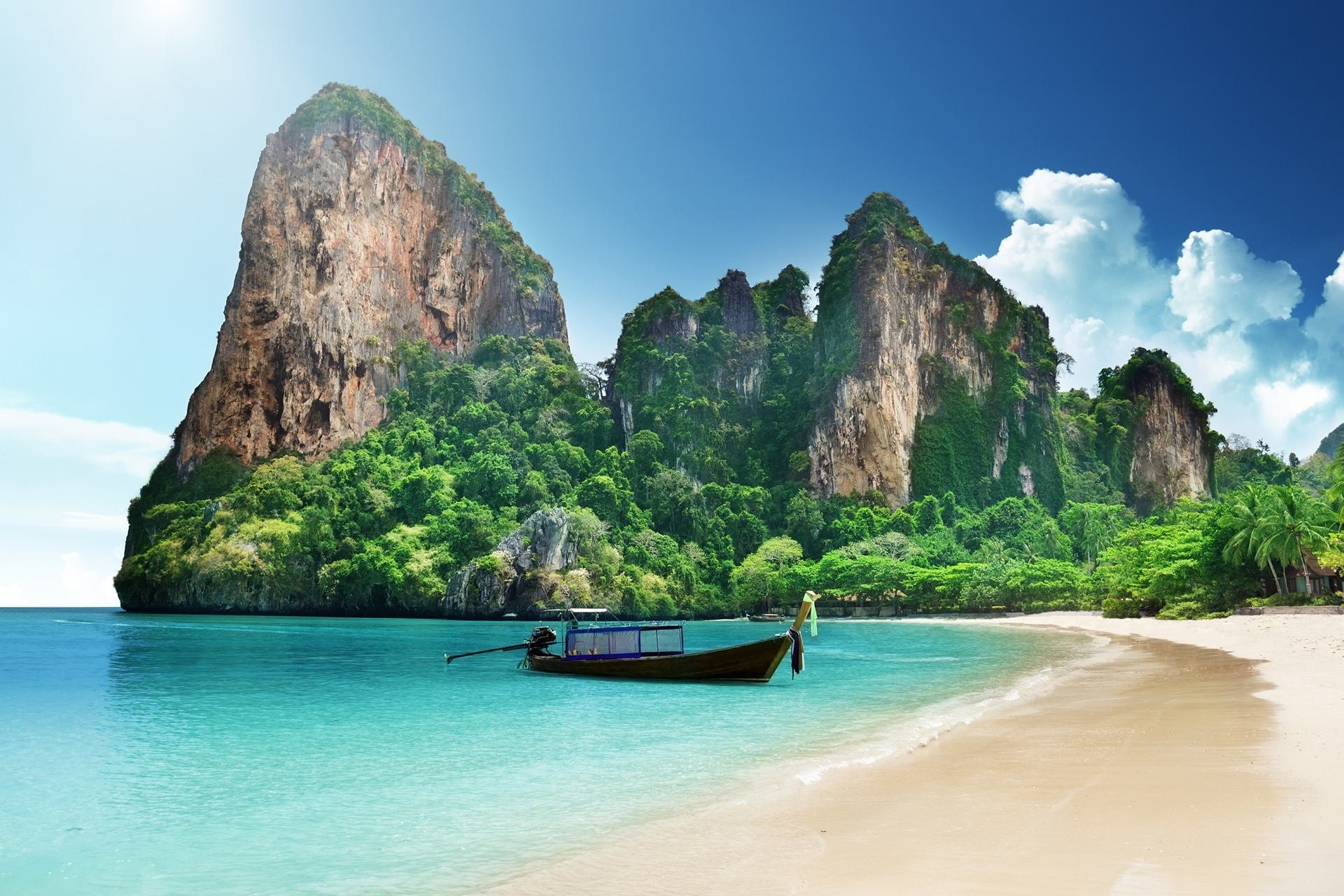Thailand's - idyllic settings