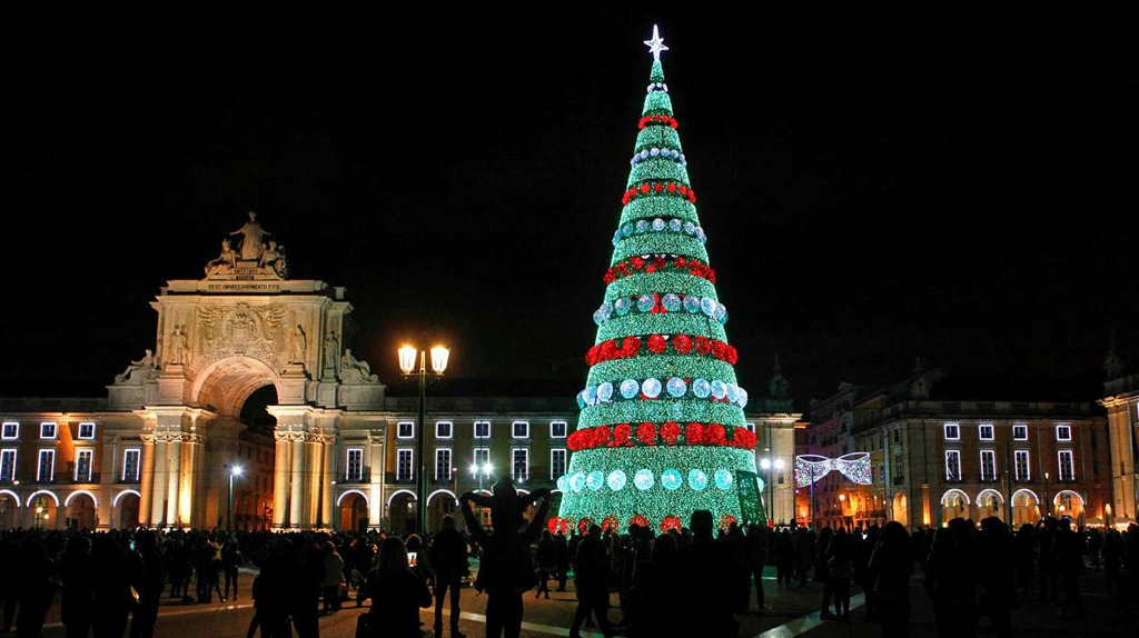 Lisbon's Christmas Lights Switch-On This Friday